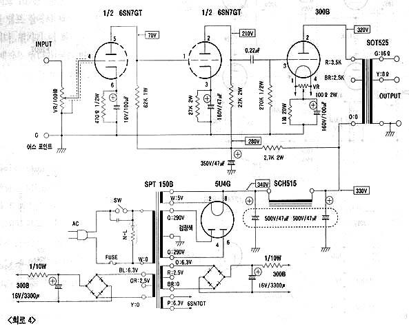 building a sun audio sv 300b mk ii clone